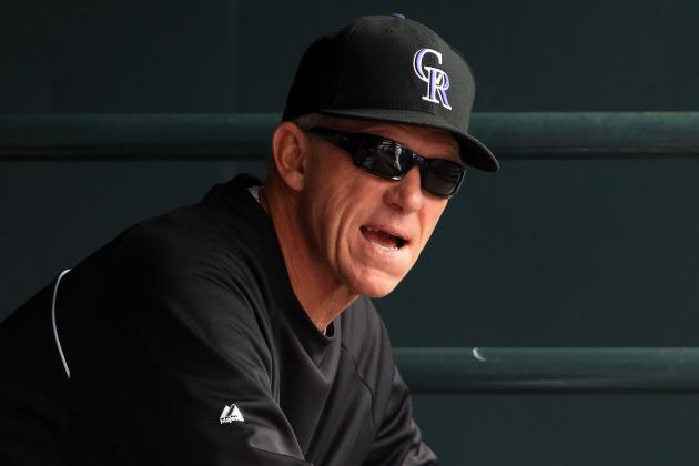 Rockies' Bill Geivett, Jim Tracy to Meet This Weekend in Denver