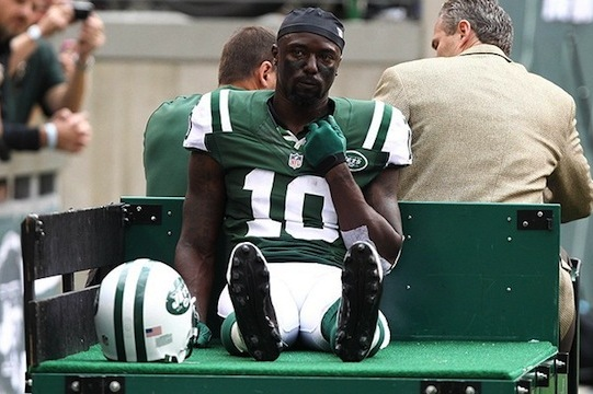 New York Jets Still Awaiting Word on the Extent of Santonio Holmes' Injury