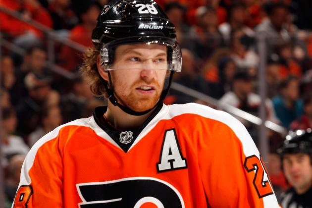 Report: Giroux to Join KHL, or Jagr's Czech League Team