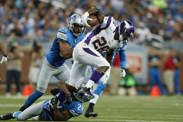 Adrian Peterson's Return from Injury Is Stunning and More NFC North Notes