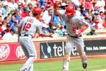 Angels' CF Mike Trout Makes MLB History