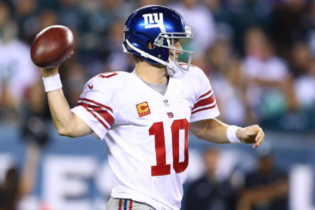 Giants Are Still All About Eli Manning