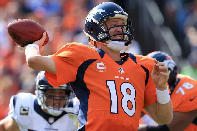 Fantasy Football: Peyton Manning Headlines AFC 'Revelations' from Week 4