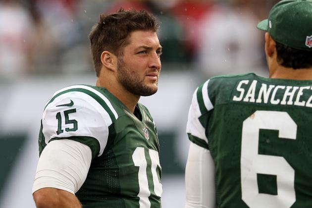 Tim Tebow: Jets QB Deserves Chance to Start After Mark Sanchez Flops vs. 49ers