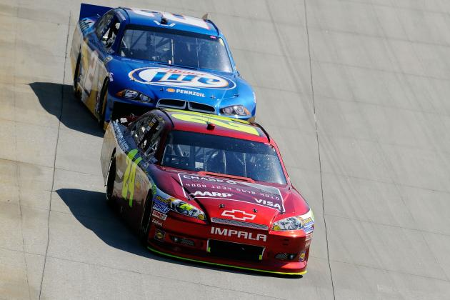 Jeff Gordon Uses Fuel Gamble to Finish Second, Make Small Gain in Chase