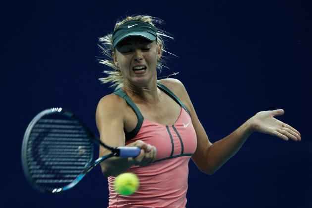 Sharapova Backs Plan to Muzzle Grunters