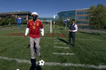 Snoop Dogg Is NOT Very Good at Penalty Kicks