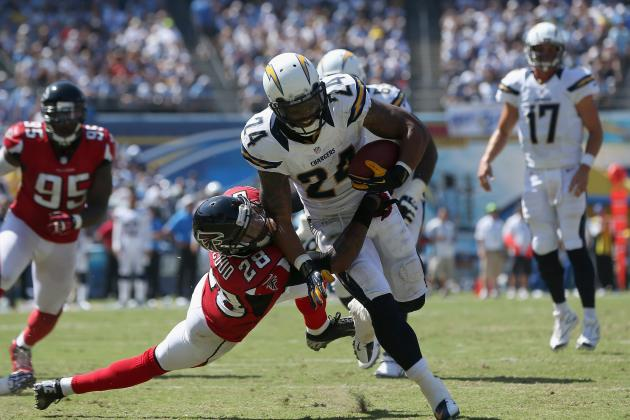 Ryan Mathews: Breaking Down Fantasy Projections for Chargers RB vs. Saints
