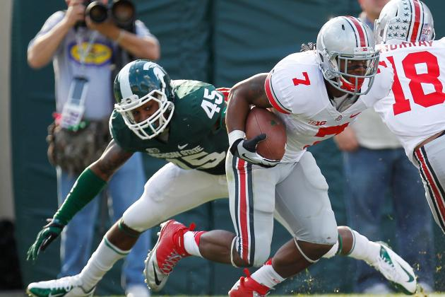 Jordan Hall: Updates on Ohio State RB's Knee Injury