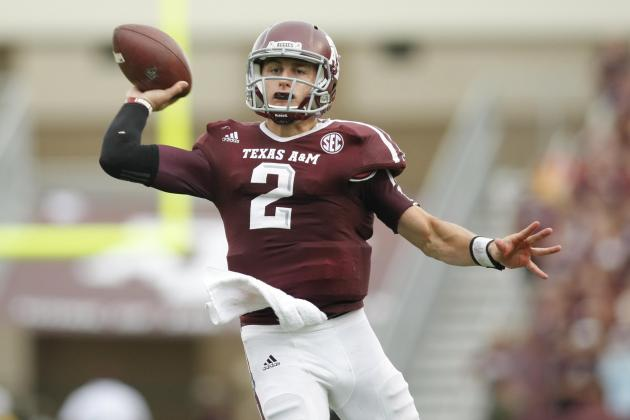 Texas A&M's Johnny Manziel on Pace for Cam Newton-Like Numbers