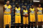 The Nuggets New Uniforms Are...