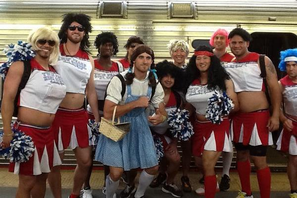 Will Middlebrooks Dresses as Dorothy from 'Wizard of Oz