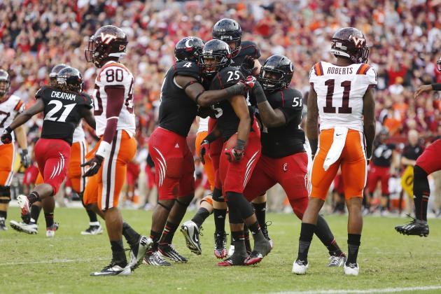 2012 College Football Week 6 Power Rankings: Cincinnati Joins Top 25