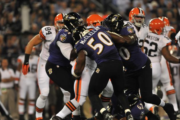Browns Accuse Ravens of Dirty Play