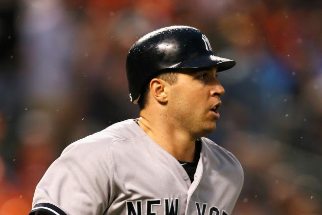 Mark Teixeira in Yankees' Lineup for First Time Since Sept. 8