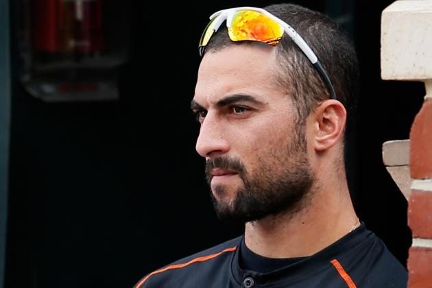 Nick Markakis Suffers Setback in Recovery from Broken Left Thumb