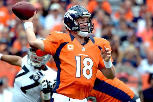 Fantasy Football: Peyton Manning Headlines AFC 'Revelations' from Week 4