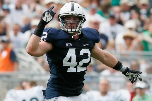 Penn State LB Backs Up Words with Deeds