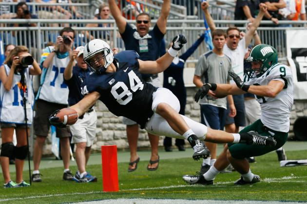 Seldom-Used Tight End Matt Lehman Makes Splash with Second-Half Heroics