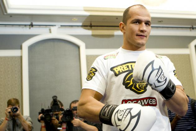 Junior Dos Santos: 'Fedor Is the Greatest of All Time'