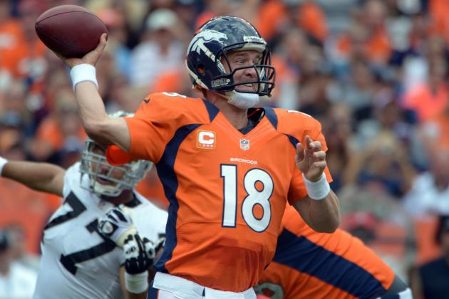 Breaking Down Peyton Manning's Return to All-Pro Form for the Denver Broncos
