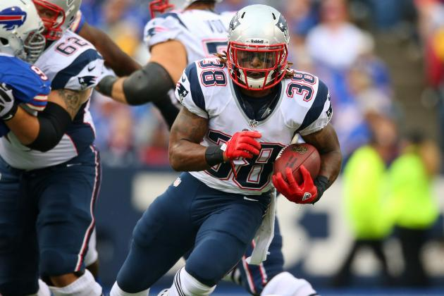 Brandon Bolden: Why Fantasy Owners Will Never Be Able to a Trust Patriots RB