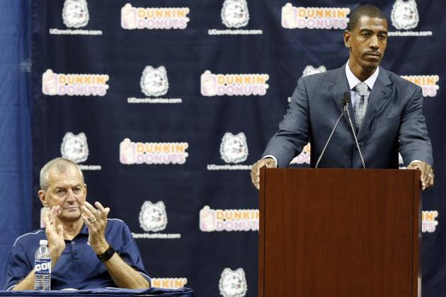 Calhoun Trying Not to Overshadow Ollie at UConn