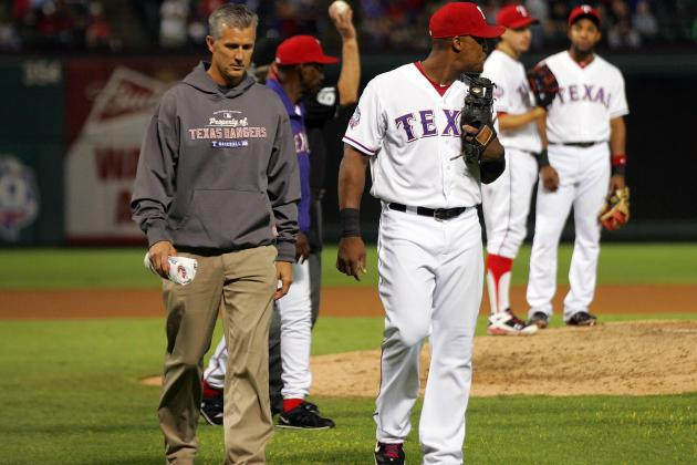 Rangers' Beltre, Young Back After Early Exits