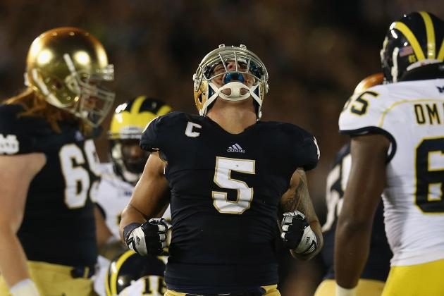 Notre Dame Football: Breaking Down Fighting Irish's Toughest Games Left in 2012
