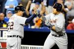 Miguel Cabrera Takes Triple Crown Lead
