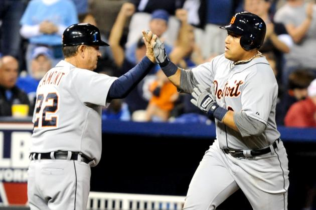 Miguel Cabrera in Position for Triple Crown After HR vs. Royals