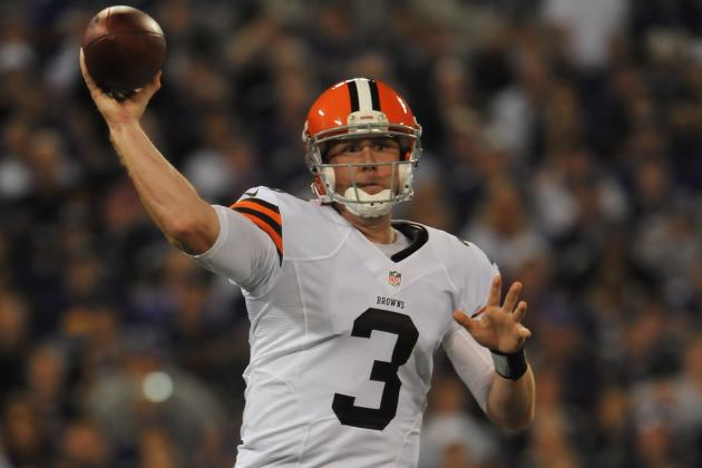 Weeden Finding Comfort Level