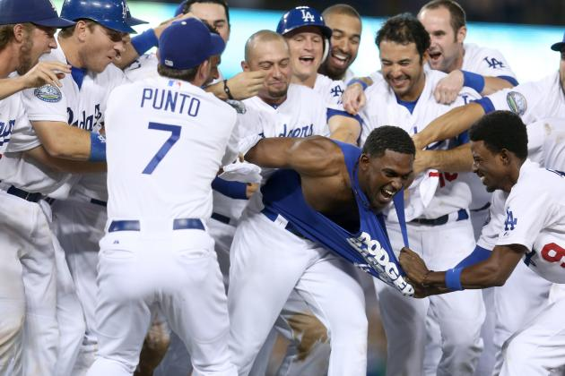 Dodgers Squeak Past Giants, Keep Hopes Alive