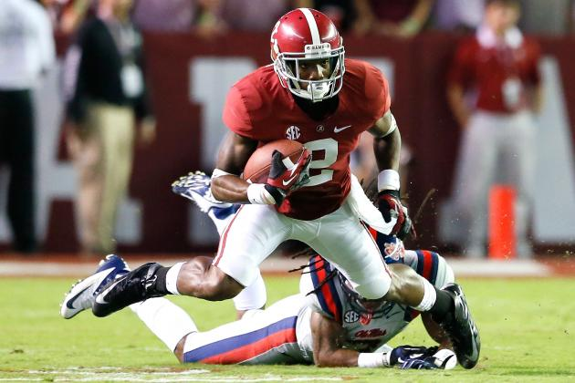 Will Season-Ending Injuries to Dee Hart, DeAndrew White Affect Alabama vs. LSU?