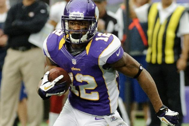 Minnesota Vikings' Percy Harvin: June Beef Was About Position Confusion