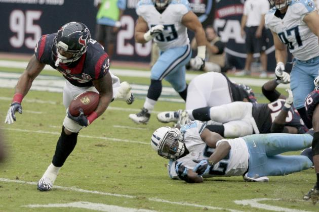 Is There Something Wrong with Arian Foster and the Texans Run Game?