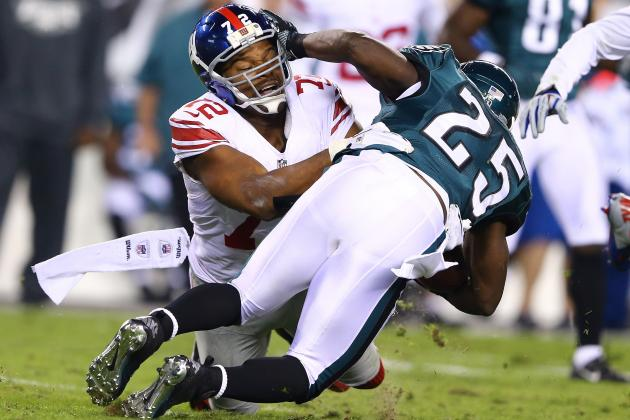 LeSean McCoy Says His Rivalry with Osi Umenyiora Is over
