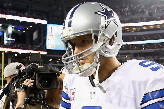 Tony Romo: Fantasy Owners Wise to Part Ways with Struggling Cowboys QB