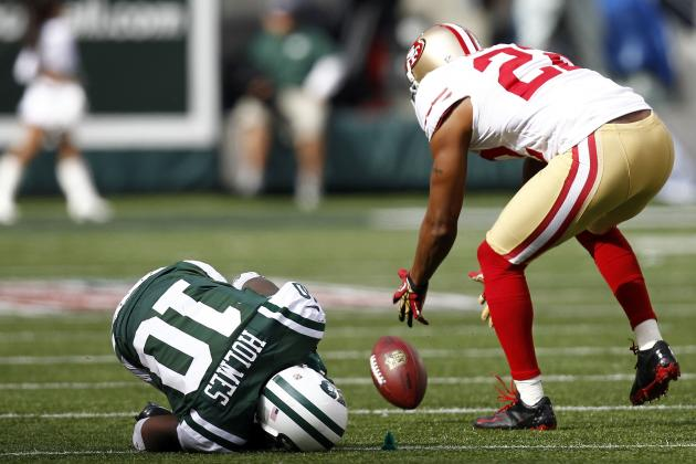 Santonio Holmes Injury: Update on Status of New York Jets' Top Wide Receiver