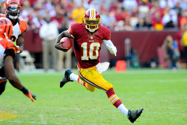 Robert Griffin III: Where Redskins QB Will Shine Brightest vs. Falcons in Week 5