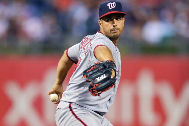 Gio Gonzalez Scratched for Tom Gorzelanny to Prepare for First Playoff Start