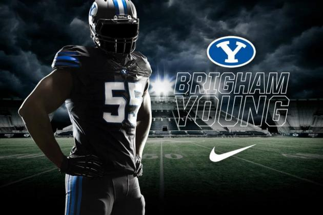 Breaking Down New BYU Blackout Football Uniforms