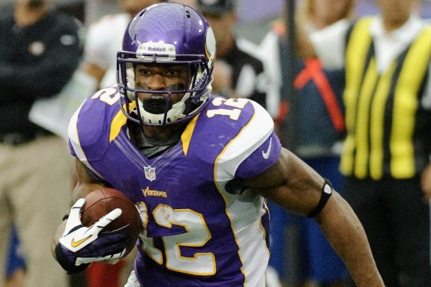 Percy Harvin Was Unhappy Before, Now Likes the Vikings' Offense