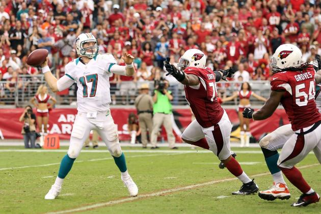 Miami Dolphins: Ryan Tannehill Hits 400 Yards, but Still Has to Mature
