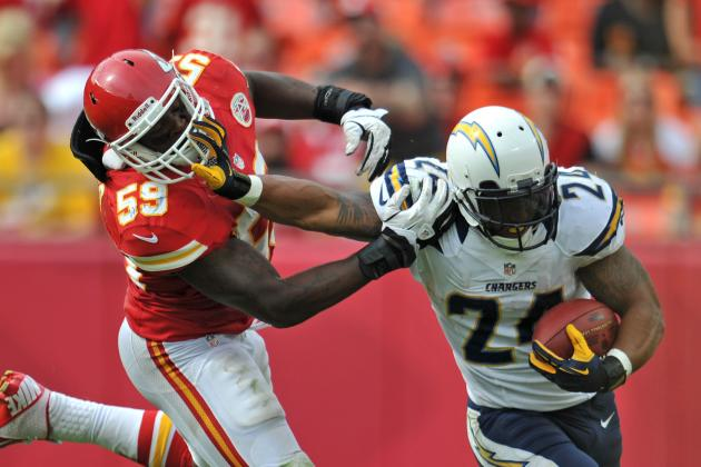 Week 5 Fantasy Football Projections: Ryan Mathews and RBs Set to Run Wild