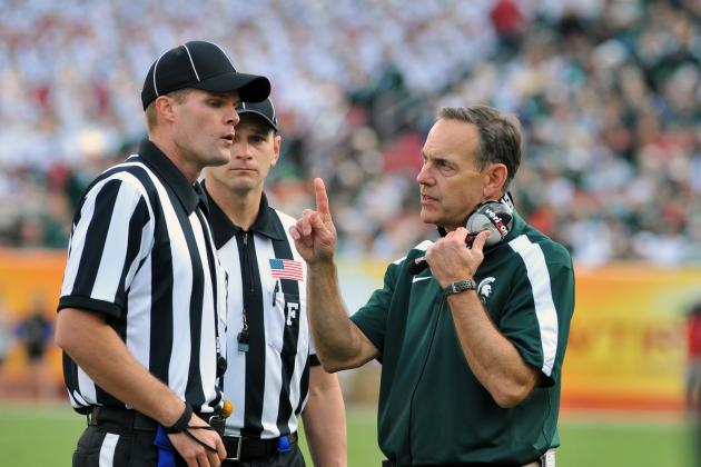 Dantonio Not Bothered by Video of Rough Play Against Ohio State