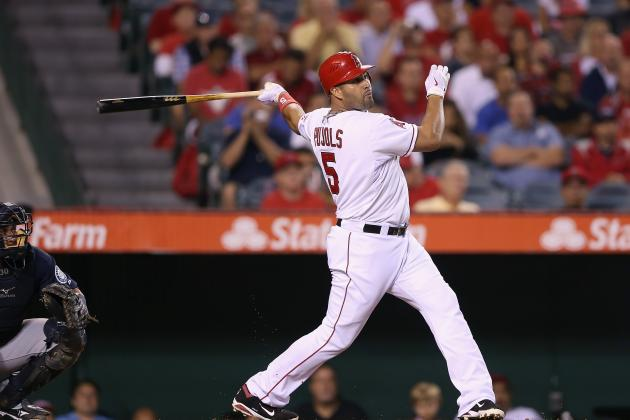 Albert Pujols Is Fifth Ever with Three 50-Double Seasons