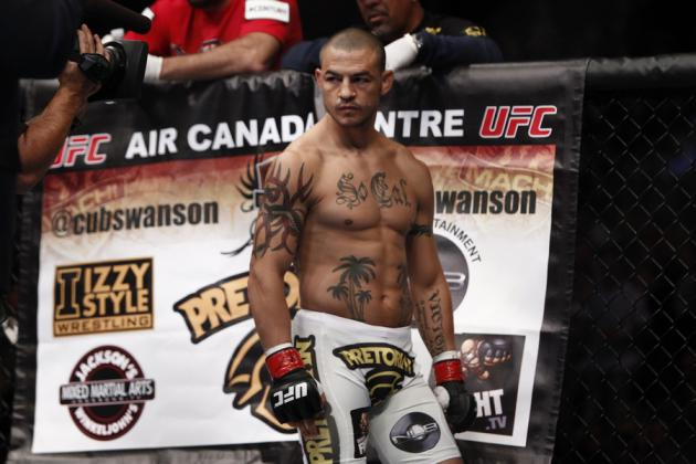 Cub Swanson Downplays Jose Aldo: 'I Could Win That Fight 10 out of 10 Times'