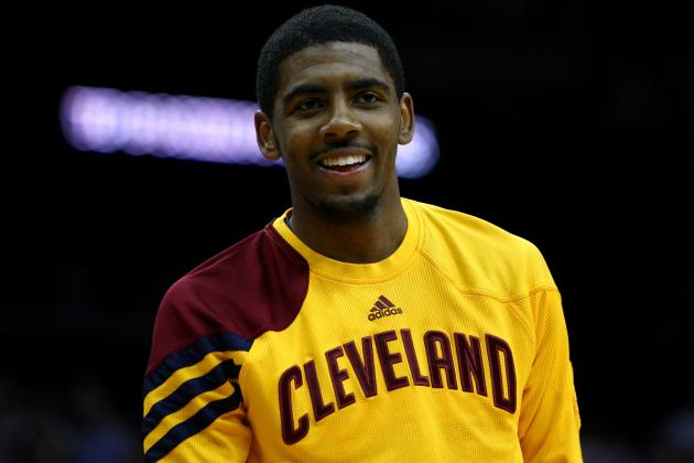 Kyrie Irving's broken hand healed