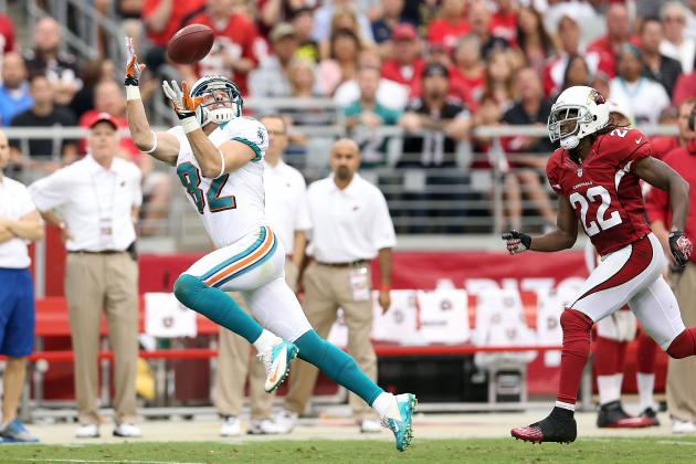 Brian Hartline and More Top Fantasy WR Pickups for Week 5